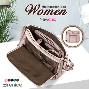 Leather Multifunctional Crossbody Bag