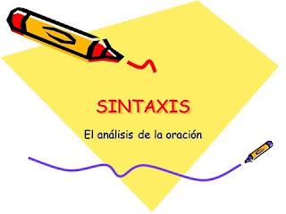 Análisis sintáctico de oraciones simples y compuestas