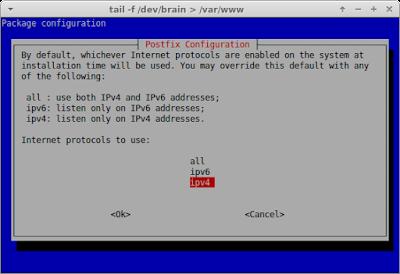 Pilih internet protokol ipv4