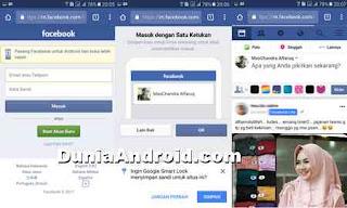 menjalankan Facebook tanpa aplikasi di android