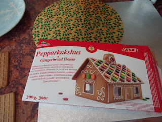 Ikea Gingerbread House Packet