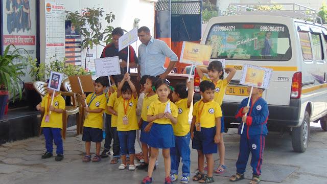 Kidzee - Smoke Free Diwali campaign by Kidzee's children