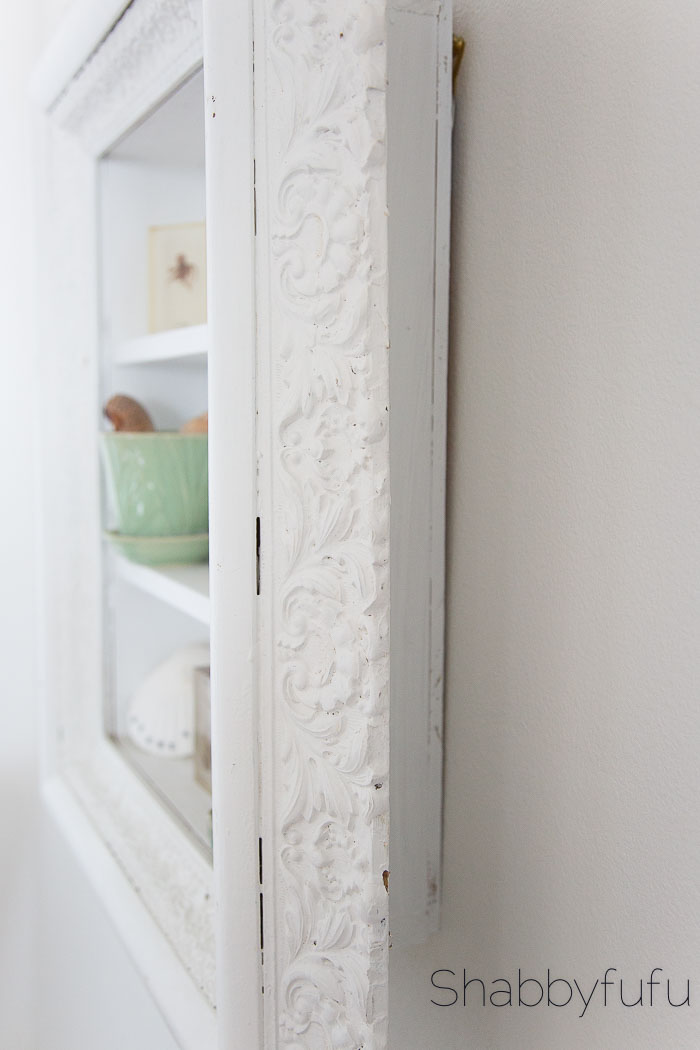 white-beadboard-shelf