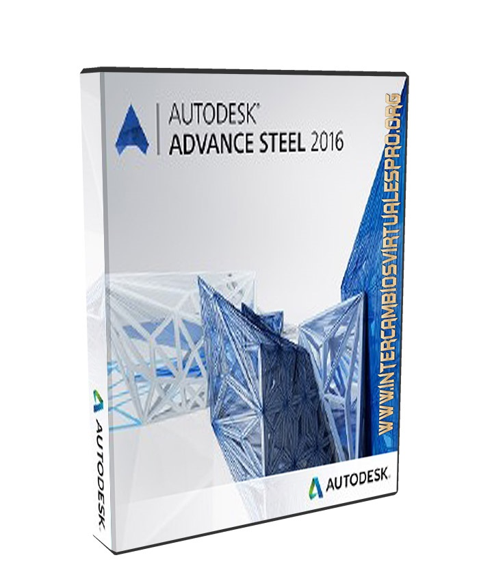 Autodesk Advance Steel 2016 poster box cover