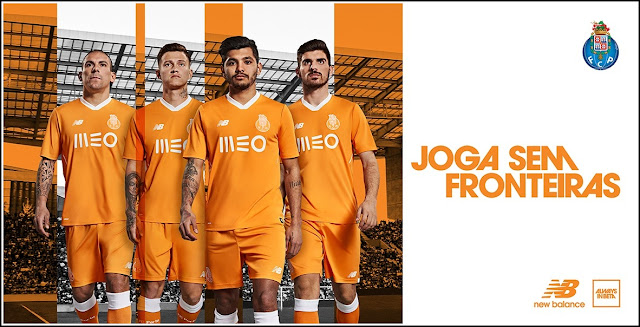 FC Porto New Balance 2017-18 Away Kit