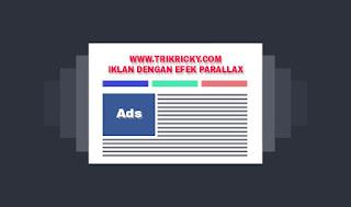 Membuat Iklan parallax di Blog dan Web dengan CSS