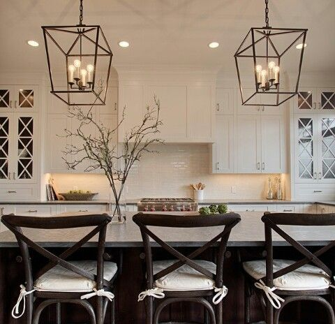 Nice After ing across this look on Pinterest I found myself dreaming of a lantern chandelier in an open kitchen As you have seen on snapchat