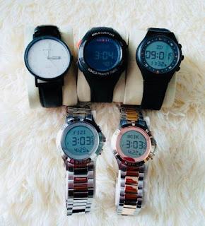 jam tangan solat digital