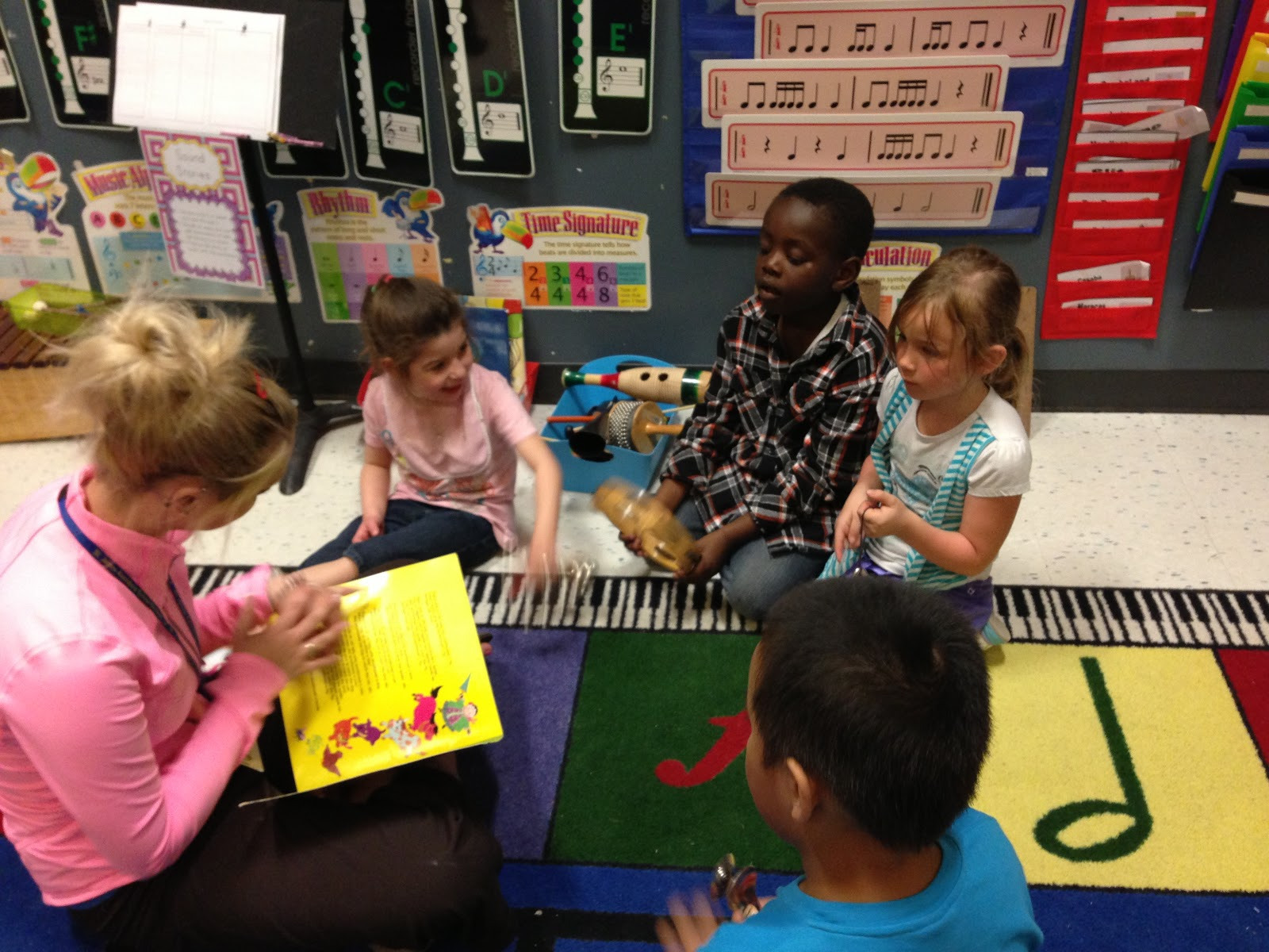 Elementary Music Resources Centers Sound Stories