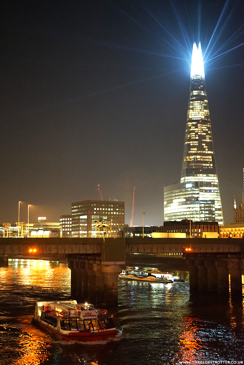 Shard London At Night