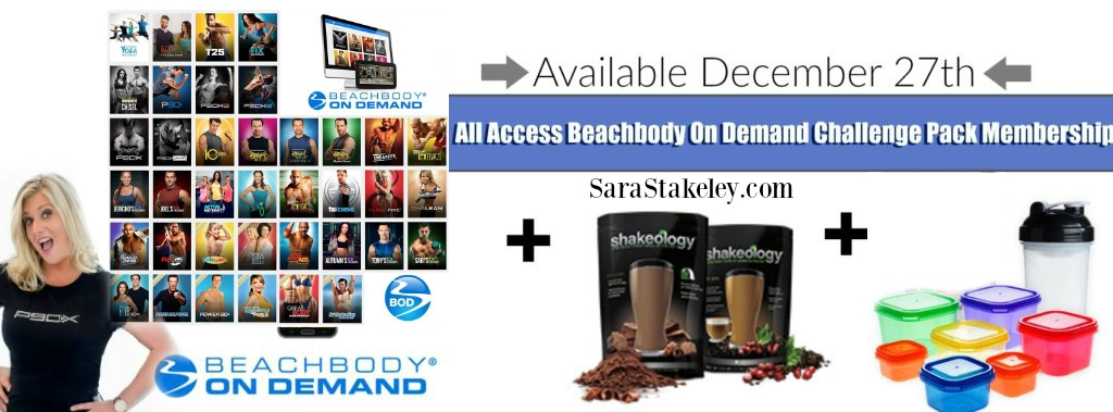 Sara Stakeley: The All Access Beachbody On Demand Challenge