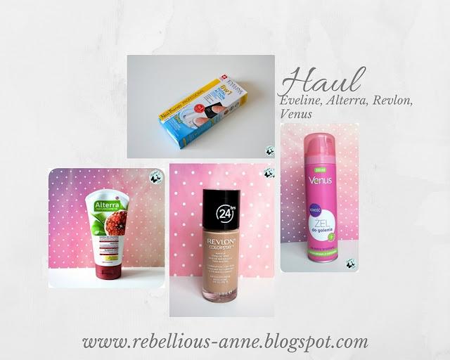 Haul: Eveline, Alterra, Revlon, Venus