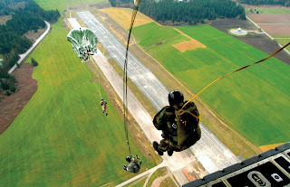 Sky Diving India Static Line Jump
