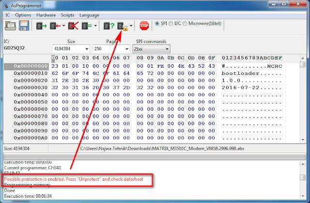 Atasi IC Eeprom memory yang Terprotek