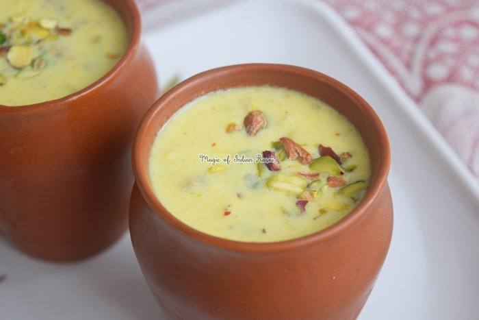 Dry Fruits Basundi Recipe - ड्राई फ्रूट्स बासुंदी  रेसिपी - Priya R - Magic of Indian Rasoi