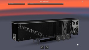 Anonymous trailer mod