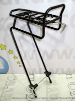 Bagasi Barang Sepeda Sapience YS03BFCA Alloy Front Bicycle Adjustable Luggage Rack
