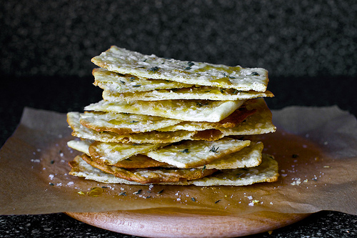 these homemade flatbread squares are a sweet and delicious treat that goes with any dip