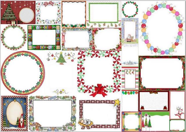 Marcos Para Navidad Para Imprimir Gratis Ideas Y