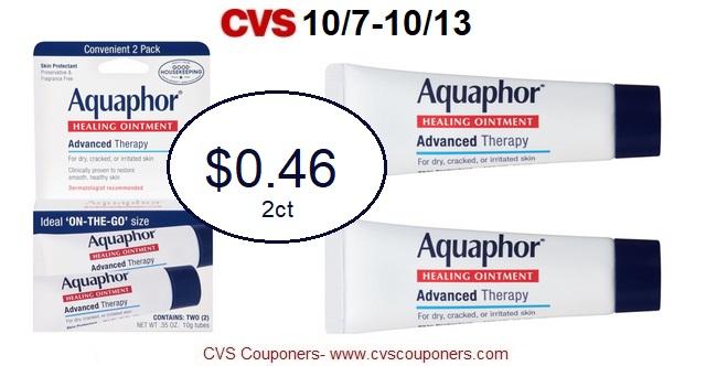 http://www.cvscouponers.com/2018/10/hot-pay-046-for-aquaphor-advanced.html