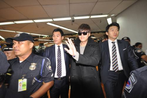 Korean Superstar Lee Min Ho is now in Manila