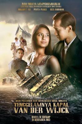 Poster Film Tenggelamnya Kapal Van Der Wijk Extended