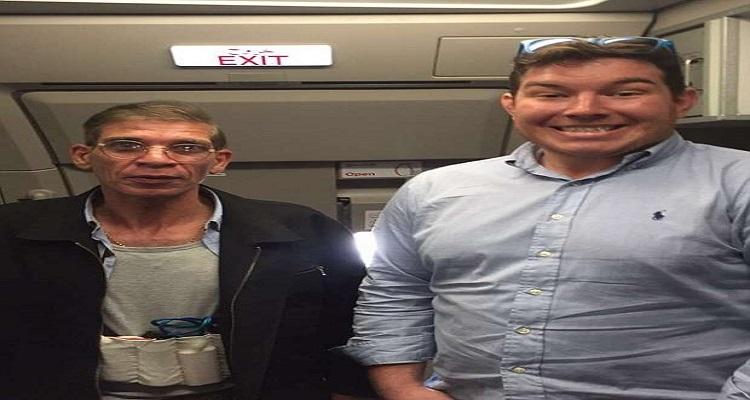 ديلي ميل تكشف هوية ملتقط السيلفي مع خاطف الطائرة المصرية
