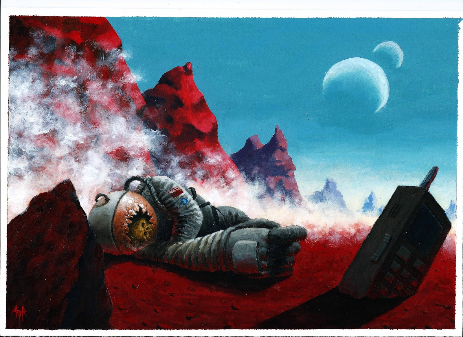 dead astronauts remains - HD1920×1396