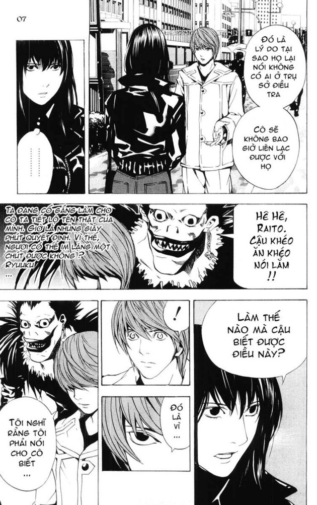 Death Note chapter 014 trang 8