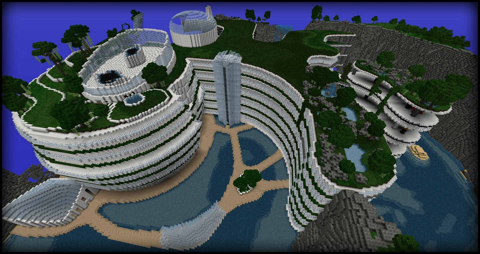 ~ The Hesperides' Shelter ~ Modern architecture ... - Construction Minecraft