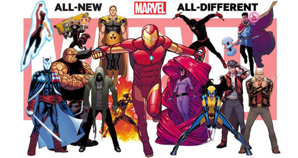 All-New All-Different Marvel Comics