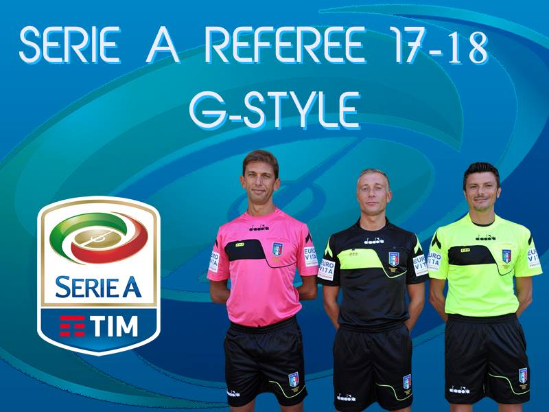 PES 2017 Serie A Referee Kits 17-18 by G-Style