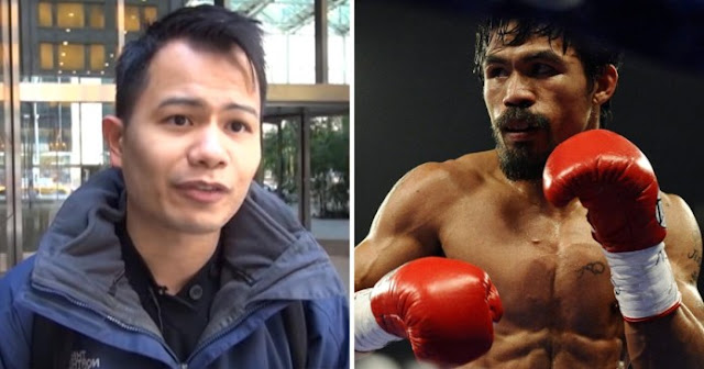 Aries Dela Cruz Behind Nike to Drop Endorsement deal with Pacquiao