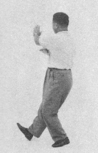 Tai Chi Chuan (Square Form) 101. Cross And Single Hand Sweep Lotus Leg