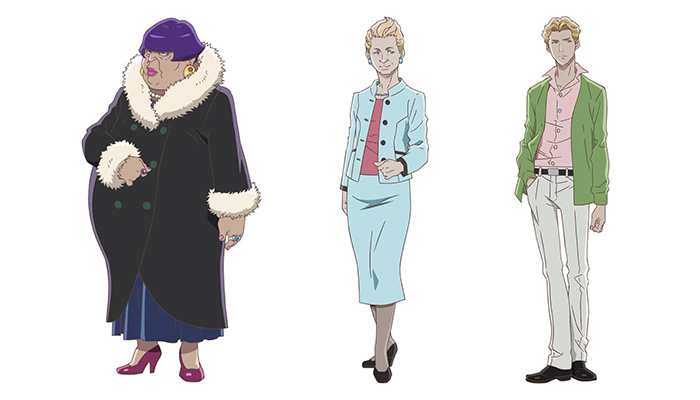 Carole & Tuesday anime - personajes