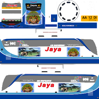 Livery Bus Simulator Indonesia Jernih PNG Bagian V6