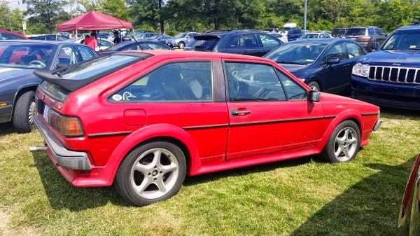Vw Red Scirocco V on 1988 Volkswagen Scirocco 16v
