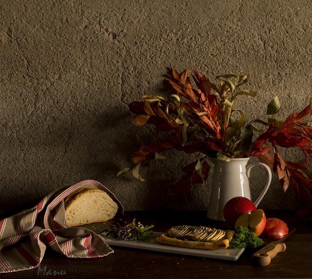 """Pastel de manzana y """"carn de perol"""" de Joan Roca - Las recetas de Manu"""