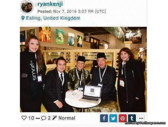 Gambar Nazri Aziz Bersama Ryan Loh (IMAMS) Tersebar!