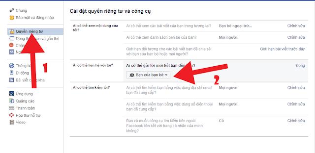 mẹo ẩn nút kết bạn facebook dễ dàng