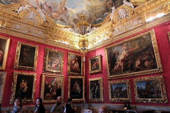 Galeria Palatino & Arte Moderna em Florença