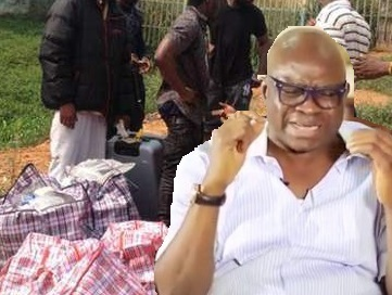 More Details..Fayose In Near Jail, As Bank Officials Also CONFESSED How They Received The Stolen N1.2b In Ghana-Must-Go Bag For The Gov