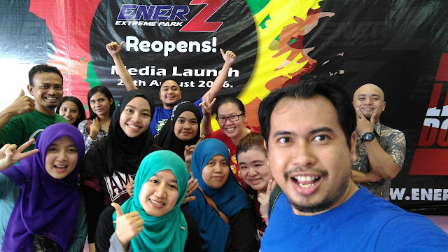 EnerZ Extreme Park, Blogger Malaysia,