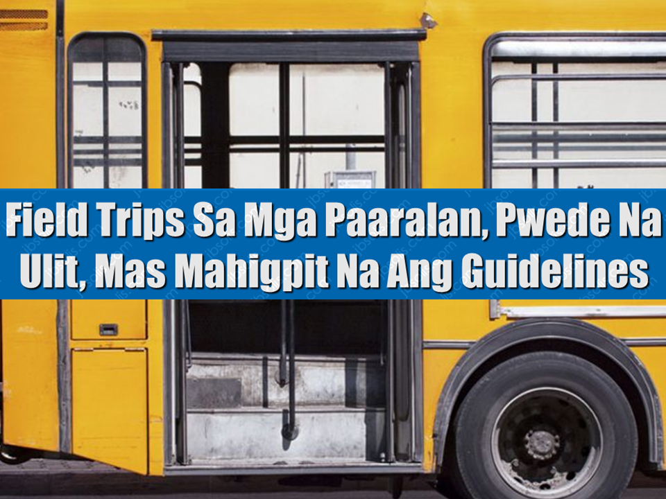 "The moratorium on field trips and off-campus activities was lifted by the Department of Education (DepEd), likewise issued new implementing guidelines for private and public schools.   The guidelines, issued by Education Secretary Leonor Briones in the effect of  Department Order 66, states that it is to be implemented in support of the K to 12 curriculum.  Sponsored Links  The guidelines which all co-curricular and extra-curricular activities are as follows:   1. Ensure relevance and alignment with the educational competencies of the K to 12 Curriculum and leadership development of learners.   2. Uphold child protection principles and that no learner shall be disadvantaged in any form;    3.Observe the safety and security protocols for all participants before, during and after the activity.    Vehicle inspection is also a must before any educational field trips commence.    The Department Order effectively repealed DepEd Memorandum No. 47 series of 2017, which took effect after a tragic bus accident in Rizal on February that killed 13 students including their teacher who were on a field trip, along with the driver.  The CHED had also earlier issued stricter guidelines for educational field trips, which included mandatory insurance for students, scrutinizing the vehicles to be used, and making the activities voluntary.  The memorandum stated that ""Participation in all off-campus activities is voluntary. Under no circumstances shall of-campus activities place undue financial burden on the learners and their families. Teachers shall not charge their expenses to learners."" DepEd also reiterated that field trips should not be used as a fund raising or to gain any profit. Source: GMA     Advertisement  Read More:           ©2017 THOUGHTSKOTO"