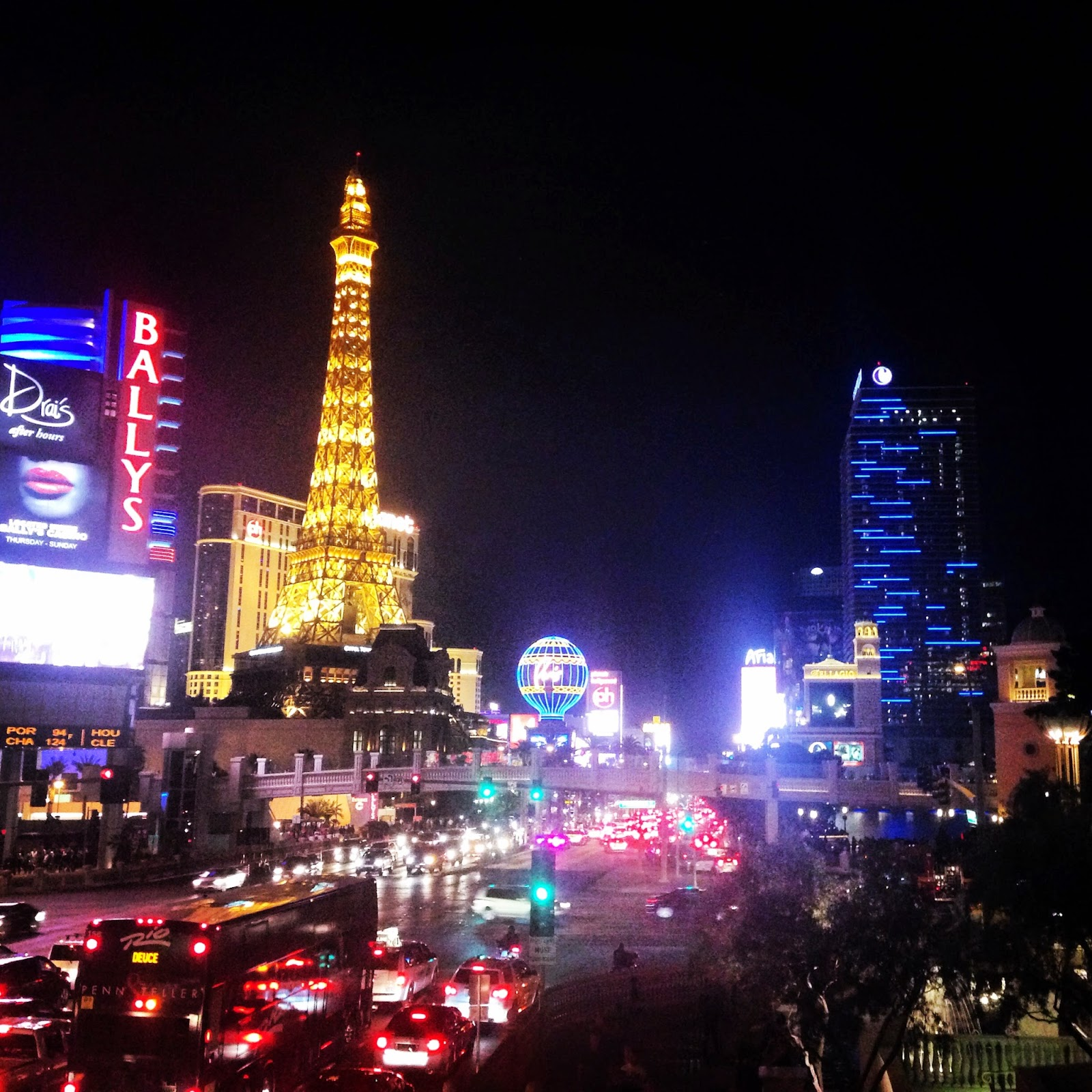Las Vegas Strip - My Travel Bucket List