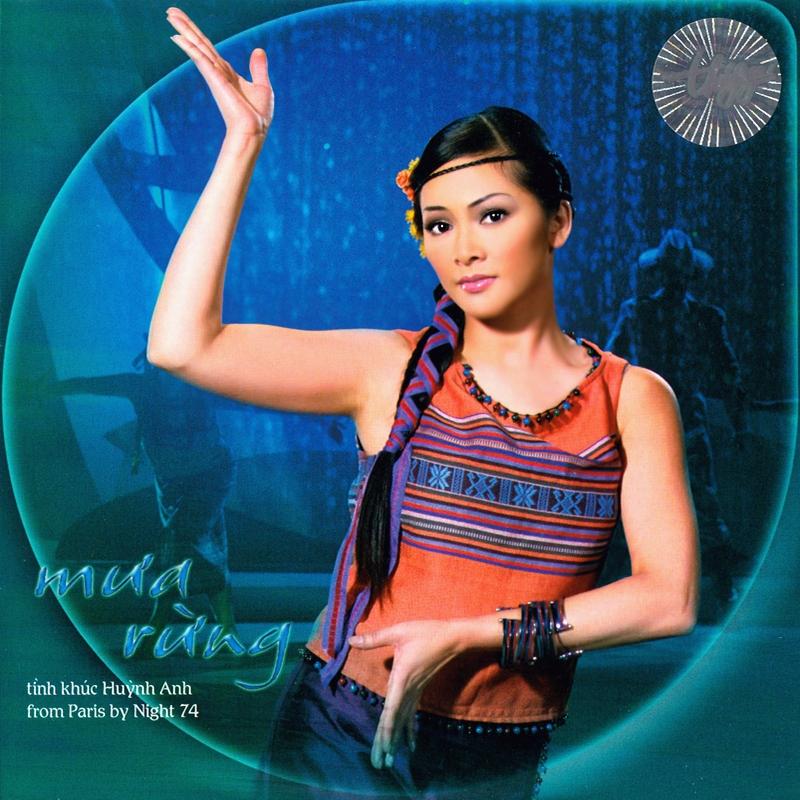 Thúy Nga CD335 - Tình Khúc Huỳnh Anh - Mưa Rừng (NRG) + bìa scan mới