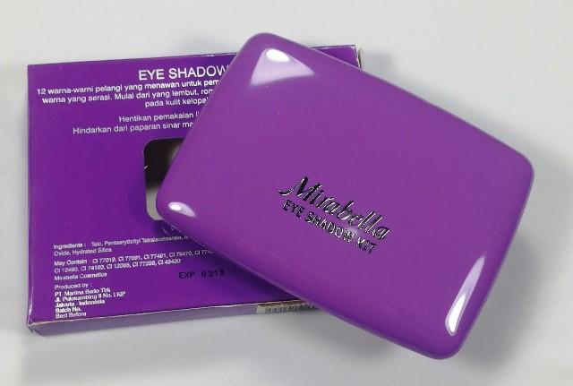 Mirabella Rainbow Eye Shadow Kit II