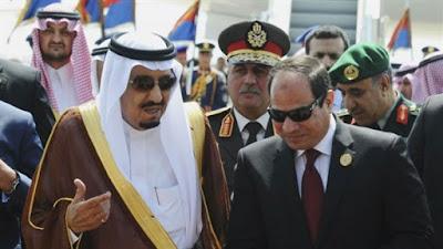 الرئيس عبد الفتاح السيسى- والملك سلمان بن عبد العزيز