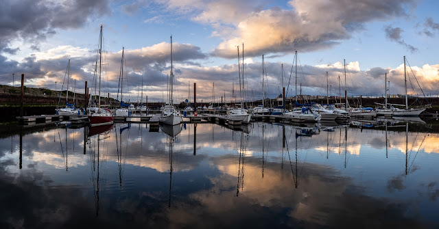 Photo of more marina reflections