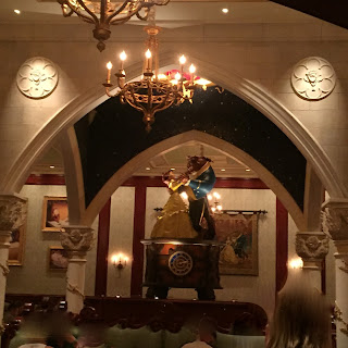 Castle Gallery Room at Be Our Guest Restaurant
